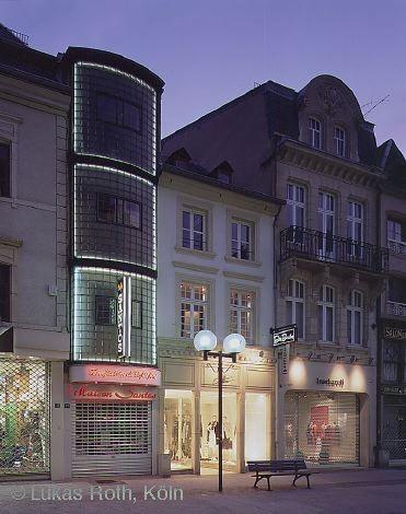 Circuit architectural au centre de la ville de Luxembourg