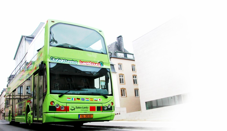 Hop on-Hop off Bus Luxembourg (CitySightSeeing)