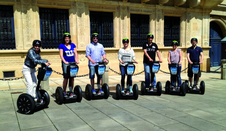 Segway (guided tours by day)