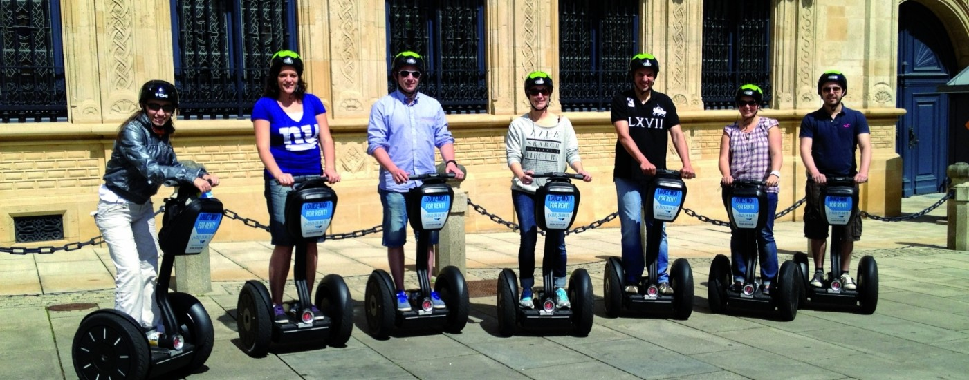 Segway: guided tours by day
