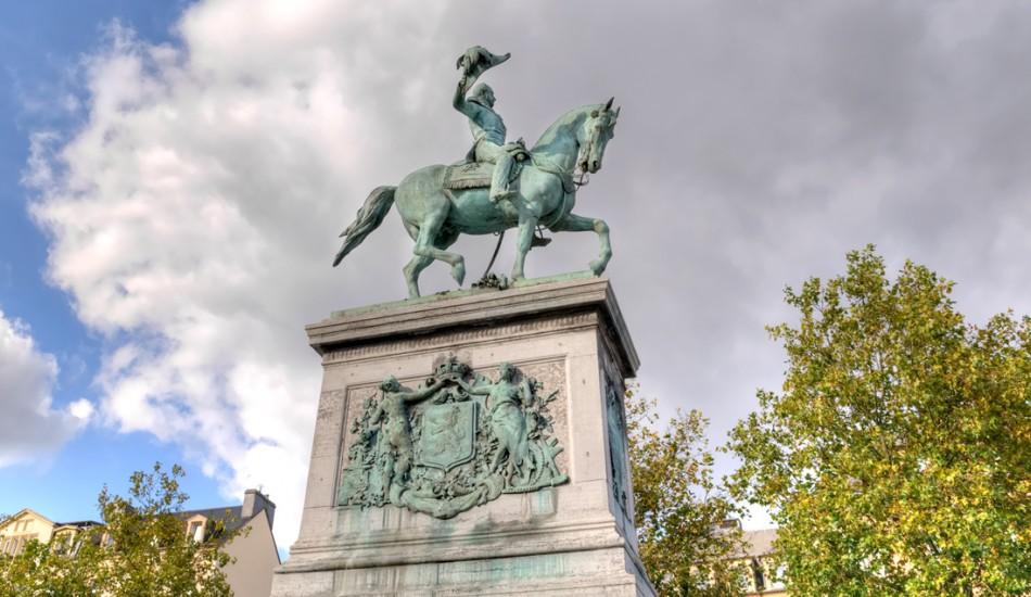 Statue équestre Guillaume II