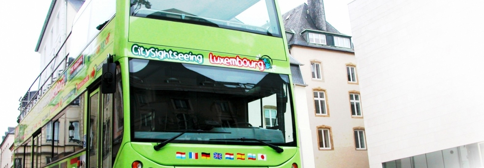 Hop on-Hop off Sightseeing Bus Luxembourg